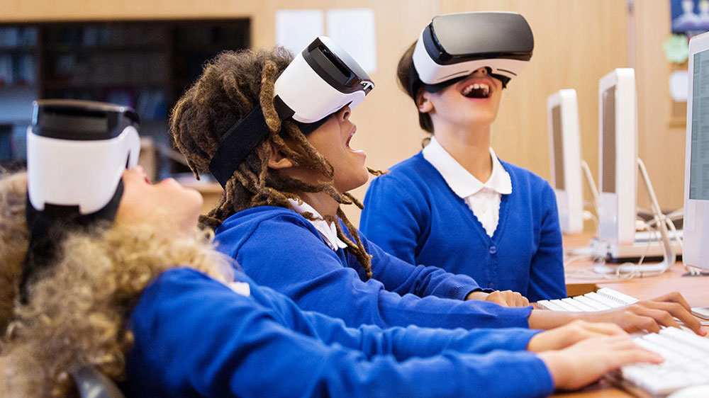 VR in the Classrooms for a Unique One Stop Experience
