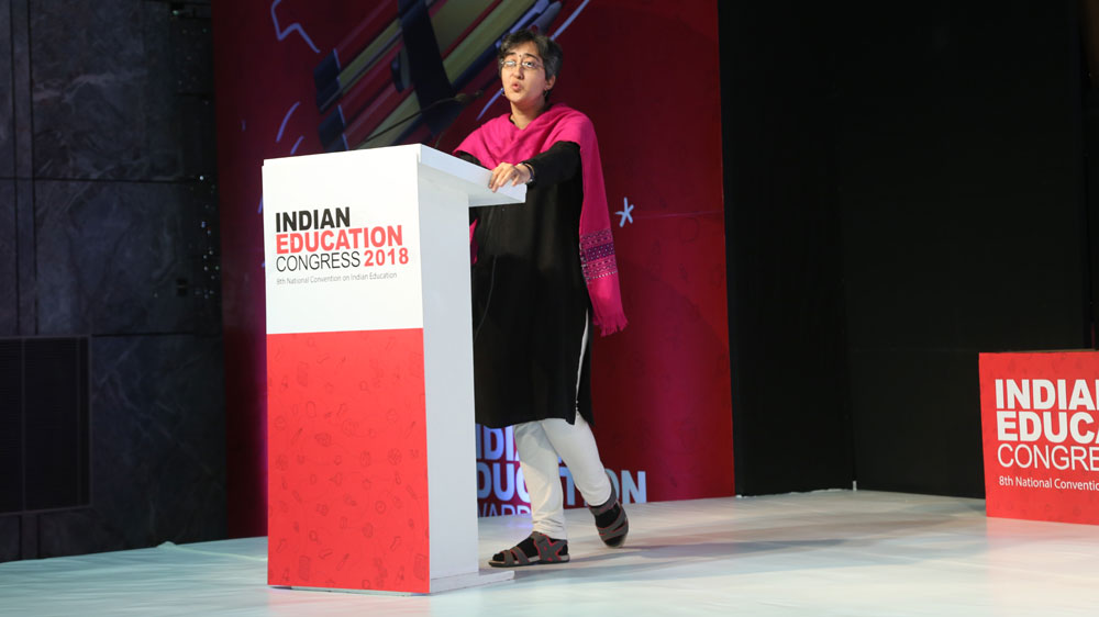 """We Really Need to Push our Limits in Public Education"", Atishi Marlena"