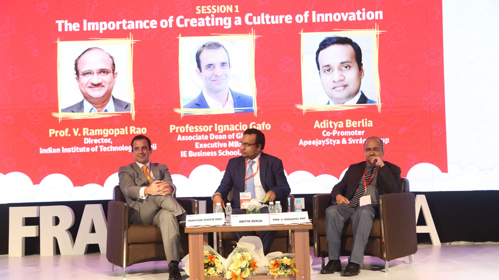 """""""We are creating a process to create innovation in the Education system, Aditya Berlia."""""""
