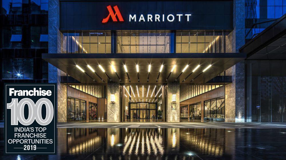 दुनिया की सबसे बड़ी होटल चेन, मैरियट इंटरनेशनल टॉप 100 फ्रैंचाइज़ लिस्ट में शामिल