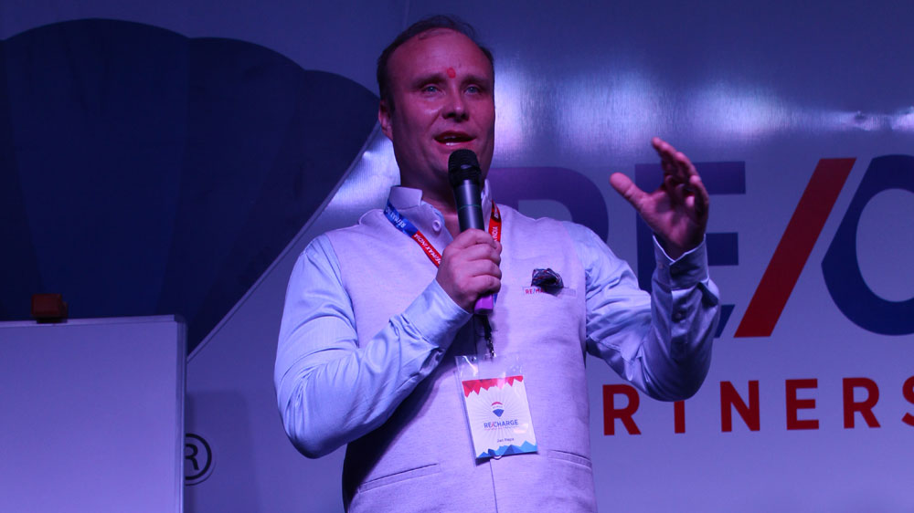 We are teaching our business owners in India how to be leaders: Jan Repa