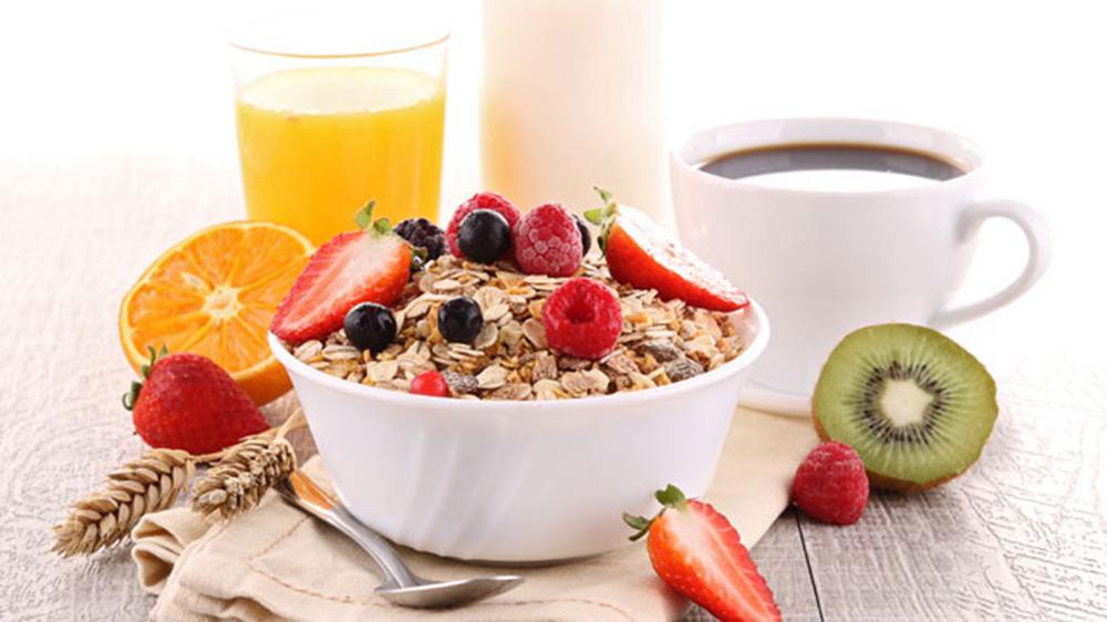 Changing trends in breakfast menu