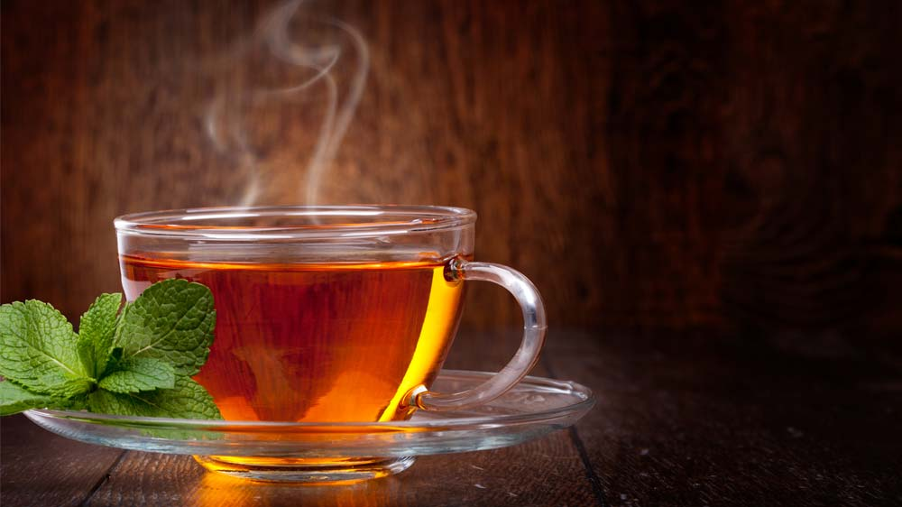 Changing colours of tea