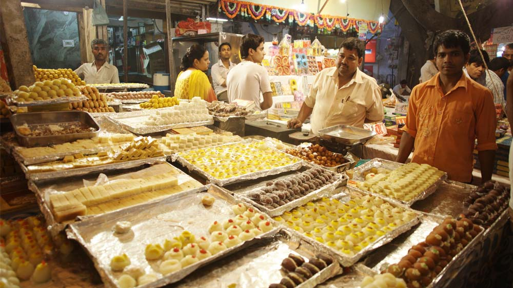 Diwali Fervour in Restaurants