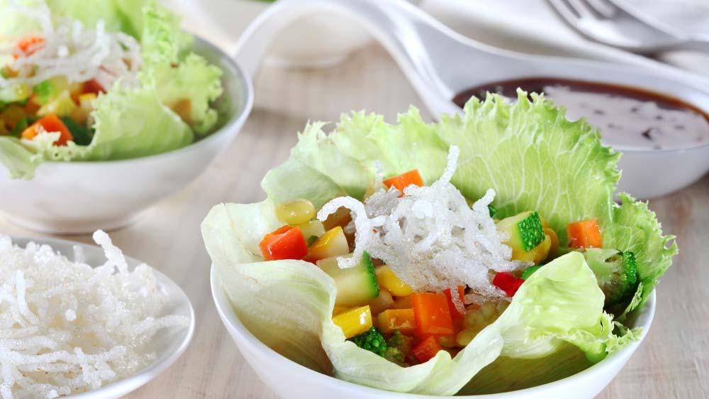 Global chains go healthy, add fresh vegetables  in their menu