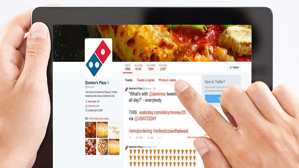 Now ordering a pizza at Domino's becomes easy with Zippr