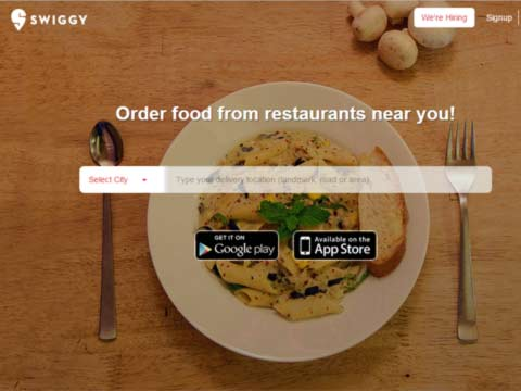 Our goal is to revolutionize the way India eat- Swiggy Co-founder