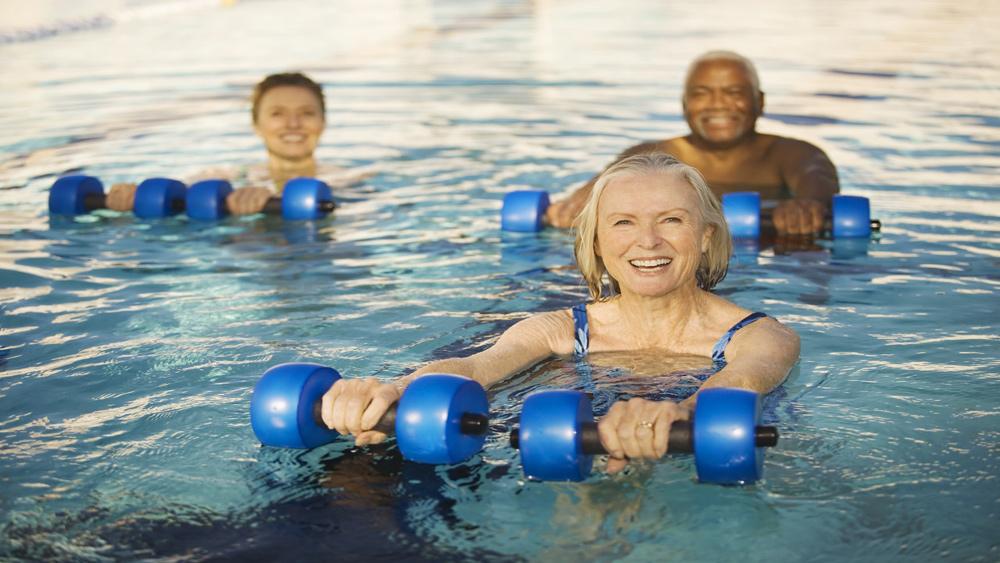 Health Benefits Of Water Aerobics
