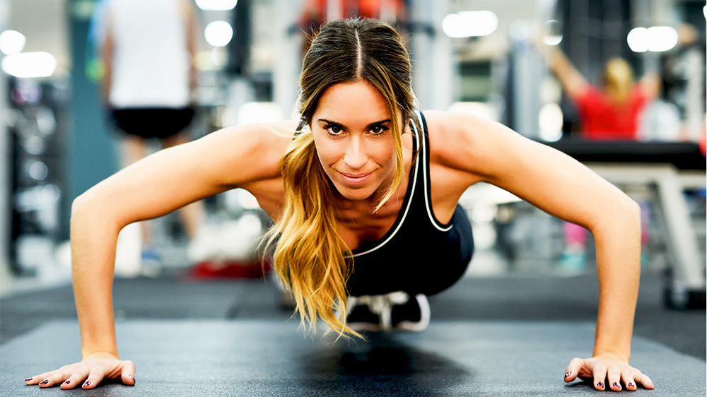Why do women prefer fitness franchises over others