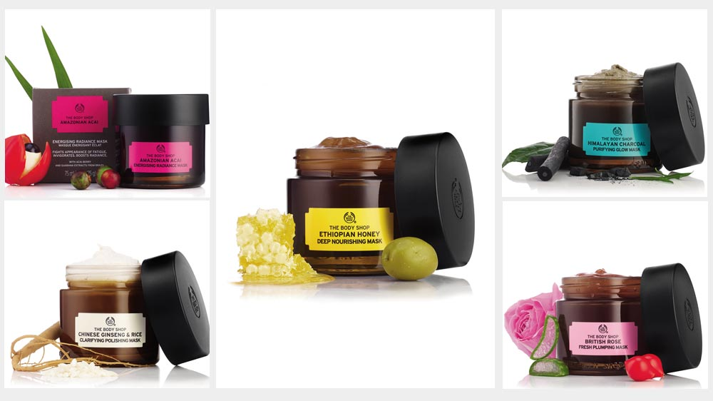 The Body Shop takes its 'vegan' game one notch up with these masks
