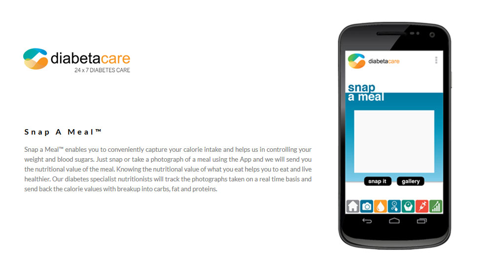 Diabetacare introduces 'Snap-a-Meal' app to keep a watch over daily diet