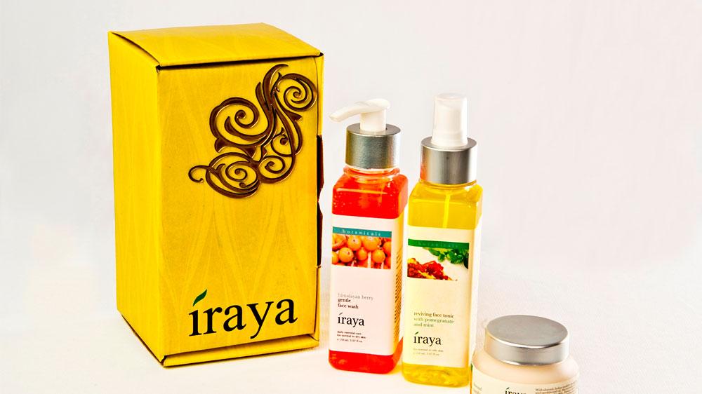 Iraya launches Light Massage Oil for full body massage