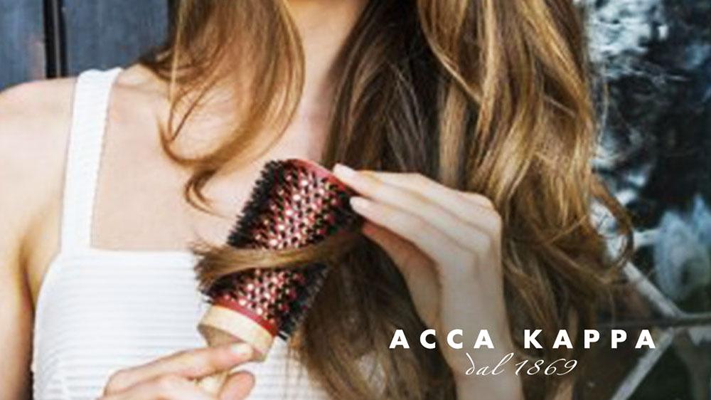 Italian brand Acca Kappa launches men styling range of hair brushes, shaving set