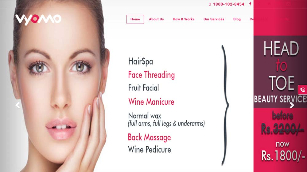 Mobile Beauty marketplace Vyomo raises seed fund from TaxiForSure Co-founder
