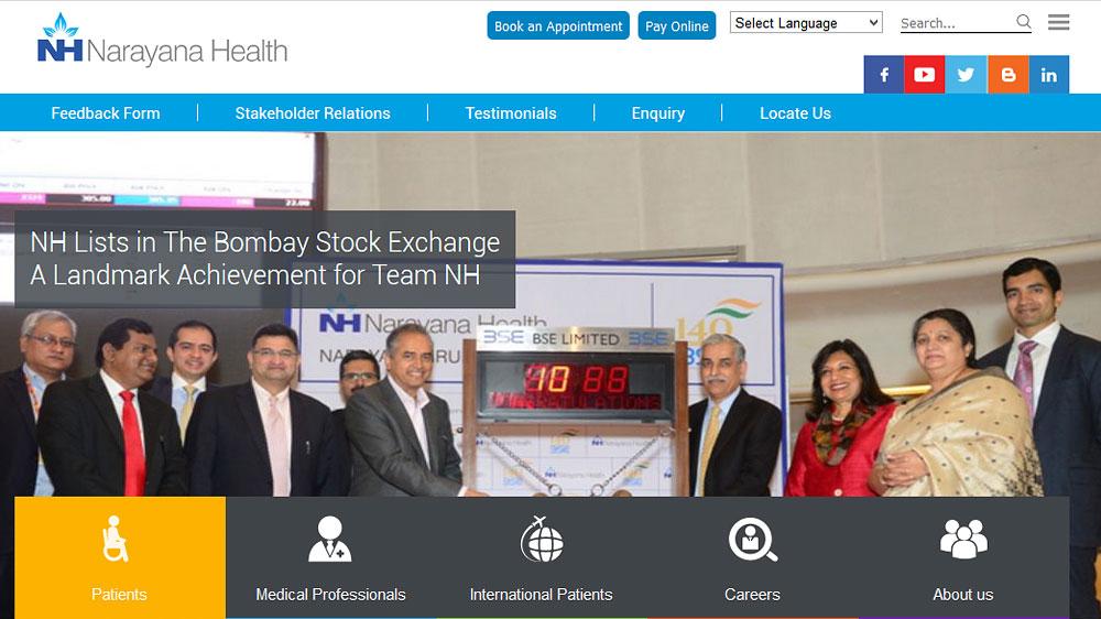 Narayana Health takesover Westbank Hospital for Rs 150 crore