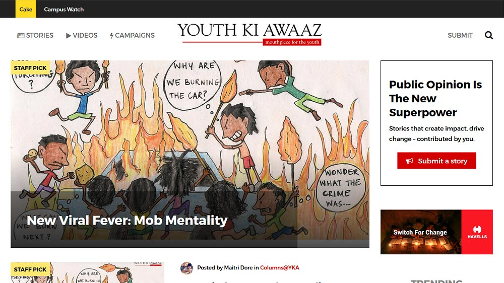 World Vision India launches blog-a-thon with Youth Ki Awaaz