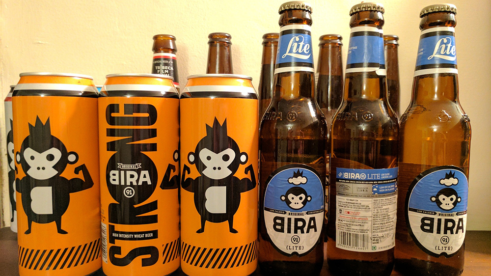 The company has launched the beers in Delhi-NCR, Mumbai, Bengaluru and Pune