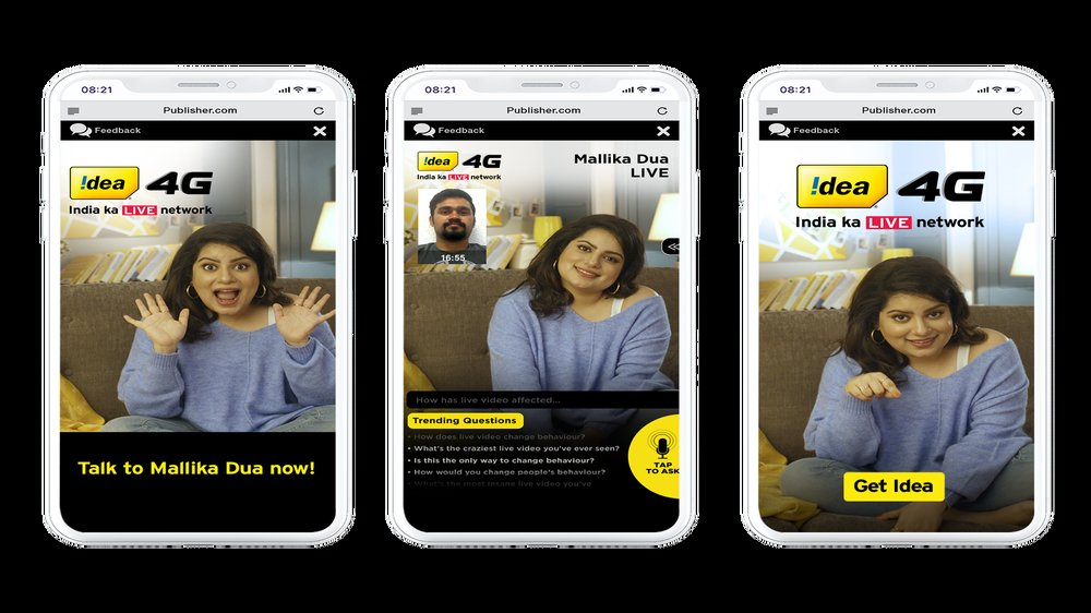 Mindshare India & Brand Idea launch Industry's first AI-led voice-enabled, video-chat bot ad to educate users