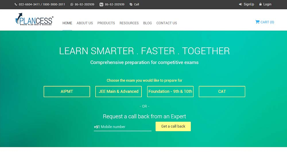 Plancessjee.com tie up with Wiley for JEE study material