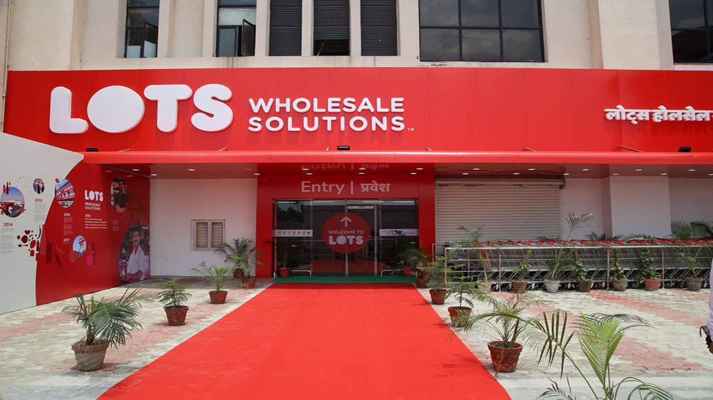 LOTS Wholesale Solutions opens first store in India