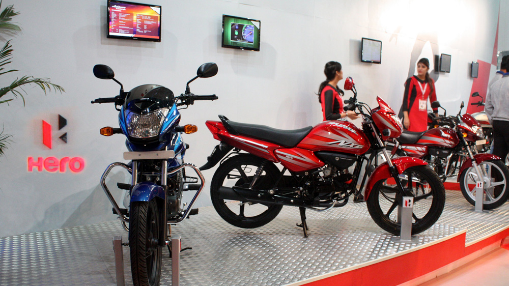 Hero Motocorp Aims For Global Expansion And Maintain Its Double Digit Growth
