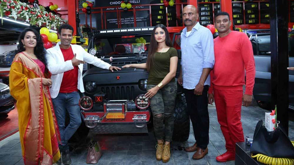 जेनेक्स ऑटोमोटिव्स ने माधापुर में फ़्रैंचाइज़ी आउटलेट लॉन्च किया