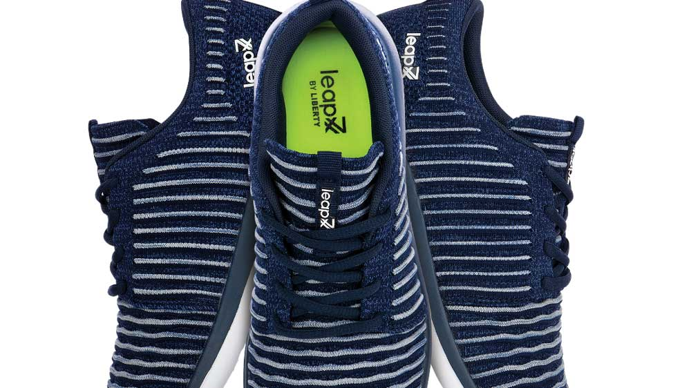 Liberty Shoes launches the athleisure brand Leap 7x