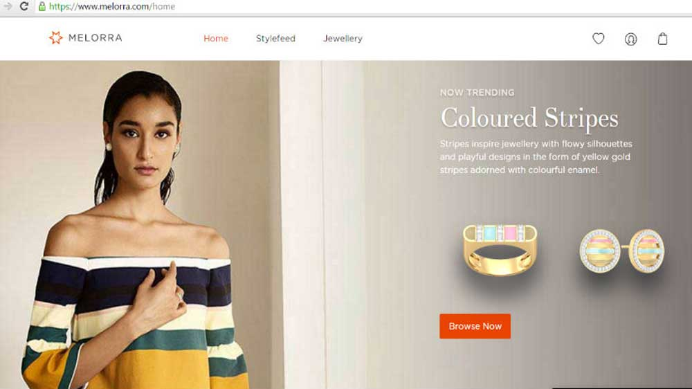 Online jewellery startup Melorra aims to earn Rs 40 crore revenue in current fiscal