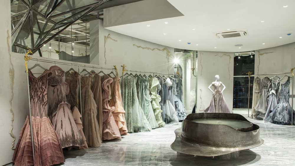 Designer Gaurav Gupta opens its new couture flagship store in New Delhi