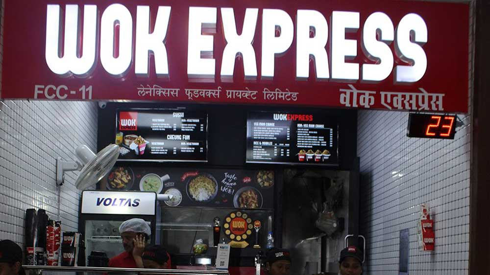 Lenexis Foodworks Announces Rs 150 Crore Expansion Plan to launch new 'Wok Express' outlets