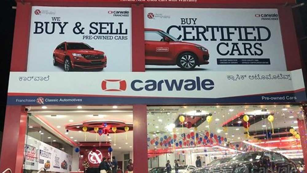 CarWale opens its first pre-owned car franchise in Bengaluru