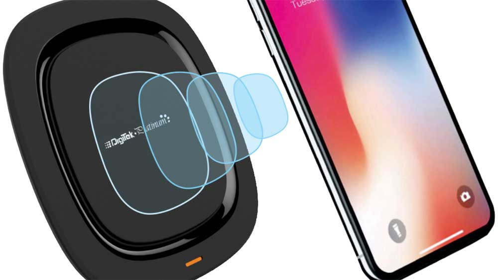Digitek Launches Fast Wireless/Inductive Charger with Platinum body