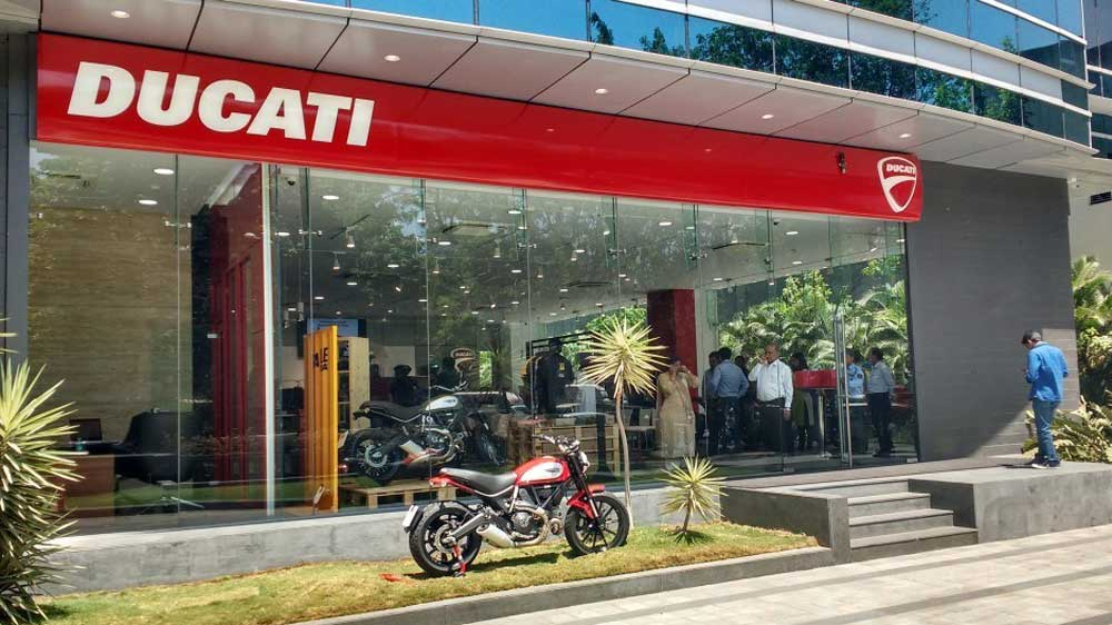 Ducati launches its ninth dealership in India