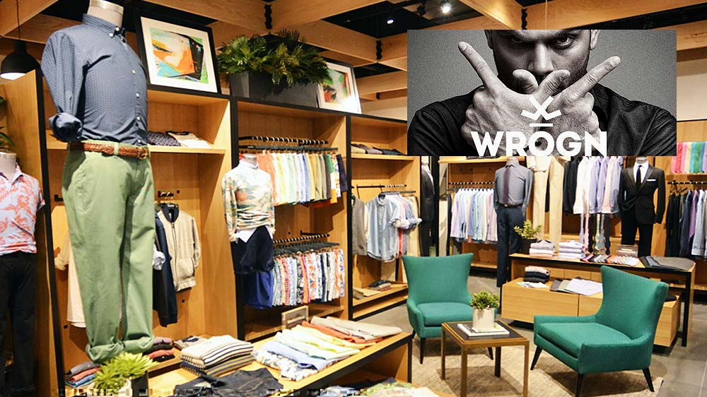 Five exclusive 'WROGN' outlets to open in metros this fiscal