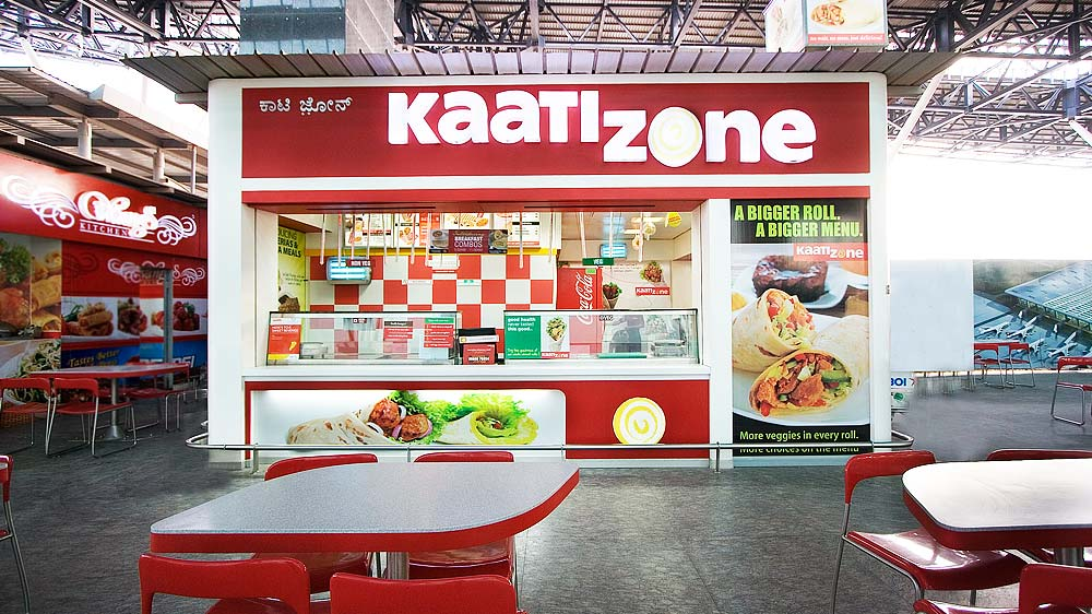 Kaati Zone A Bengaluru Based Quick Service Restaurant QSR Chain Announced Its Entry Into Hyderabad Via Franchise Route The Brands New Outlet Is Located