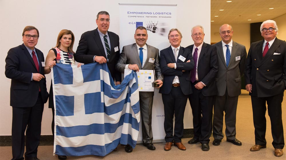 Greece receives ELA Award for European Professional of the Year 2016