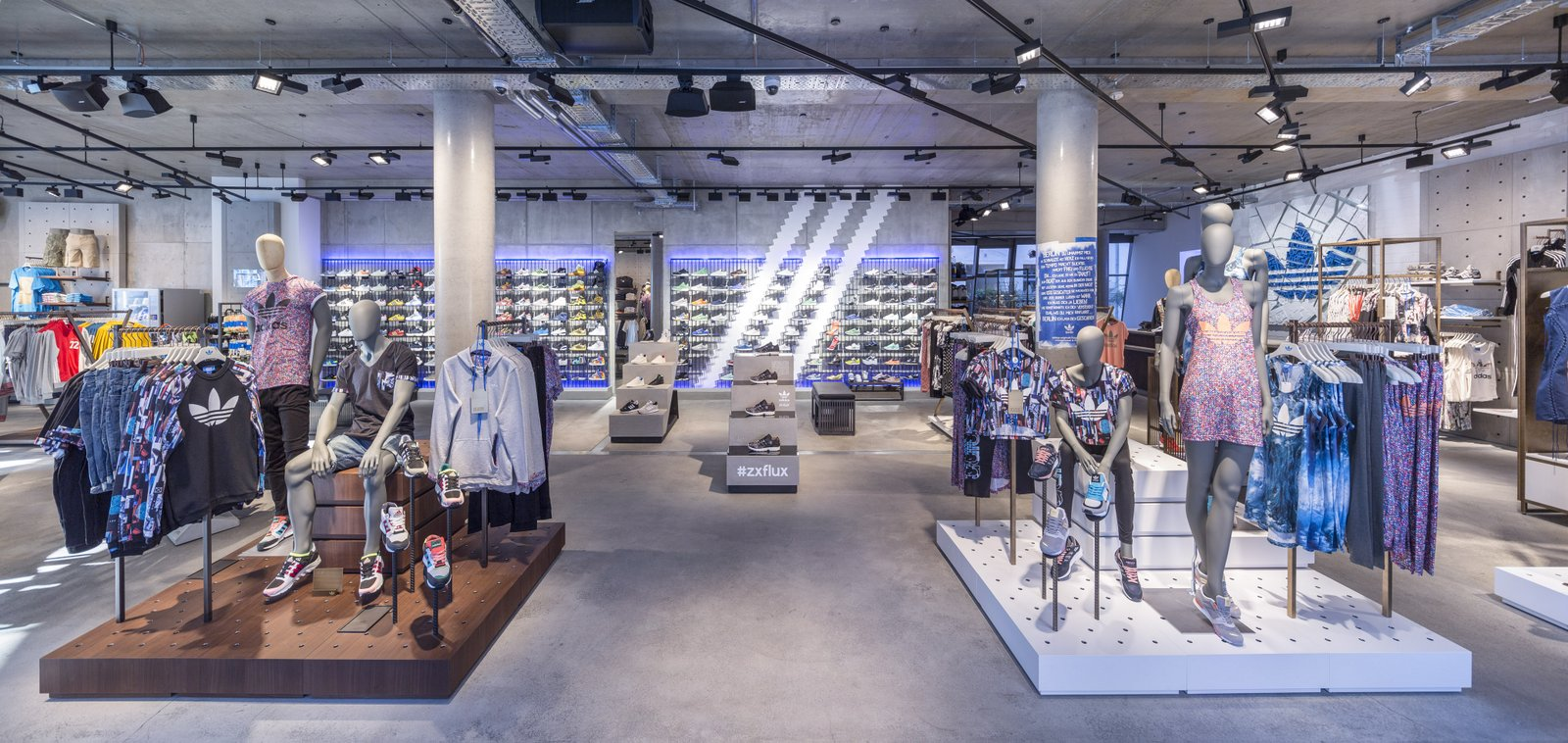 Adidas Introduces Global Concept Stores