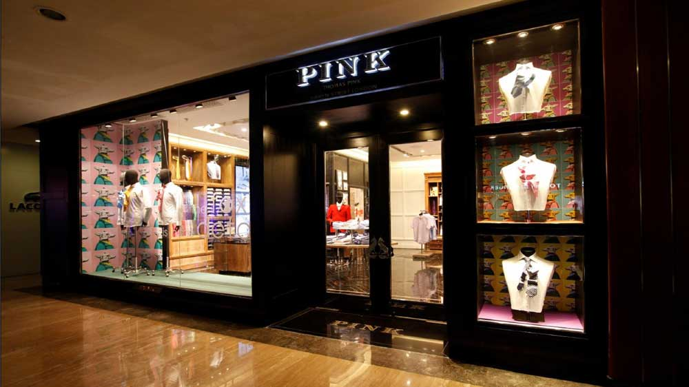 Thomas Pink opens first store in India