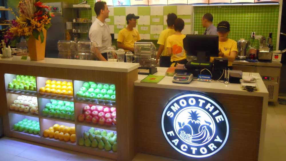 US-based Smoothie Factory to open 90 stores by 2019