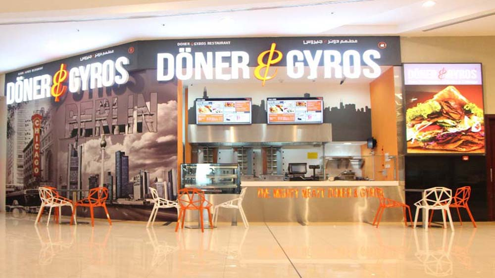 Dubai-based Doner & Gyros to Set up 200 outlets Across India
