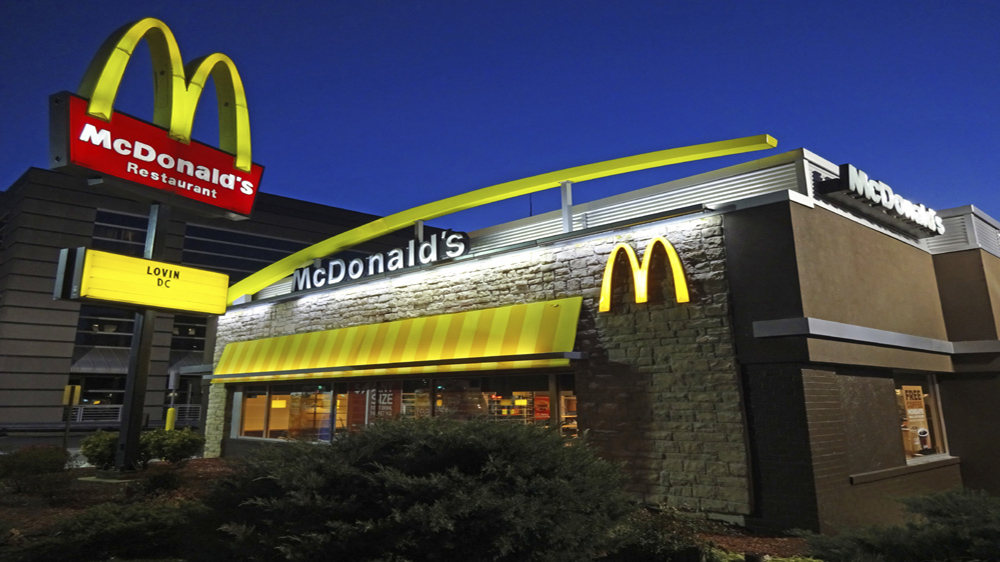 McDonald's global sales surge with higher menu prices