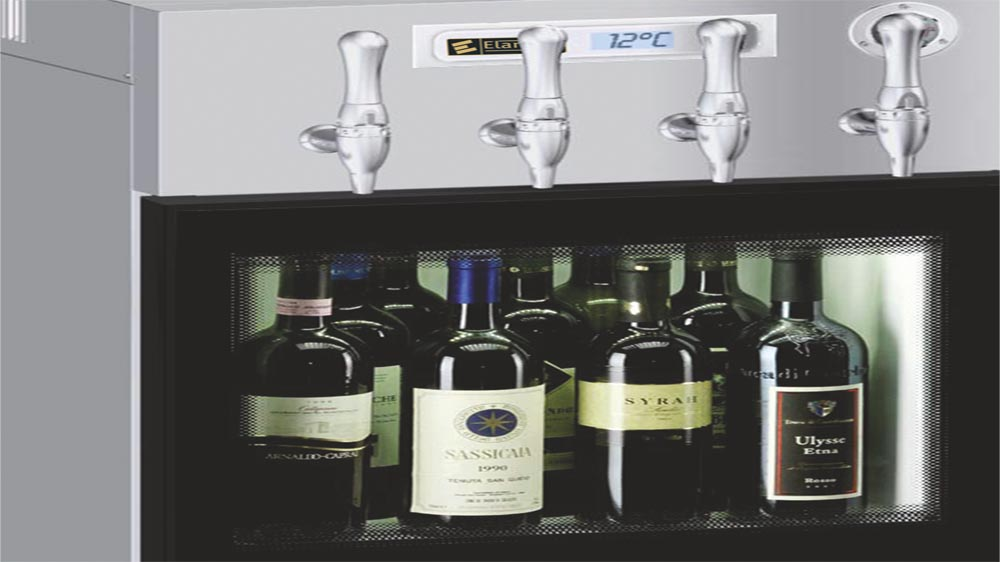 Elanpro has New Dispenser for improved wine services