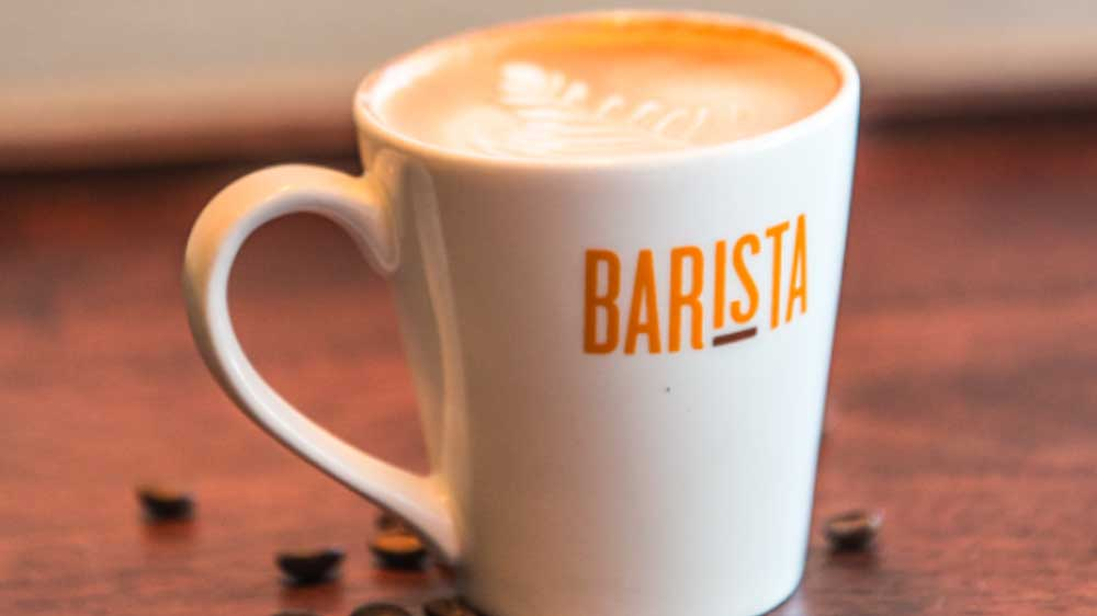 Barista ties up with PR agency Saints Art