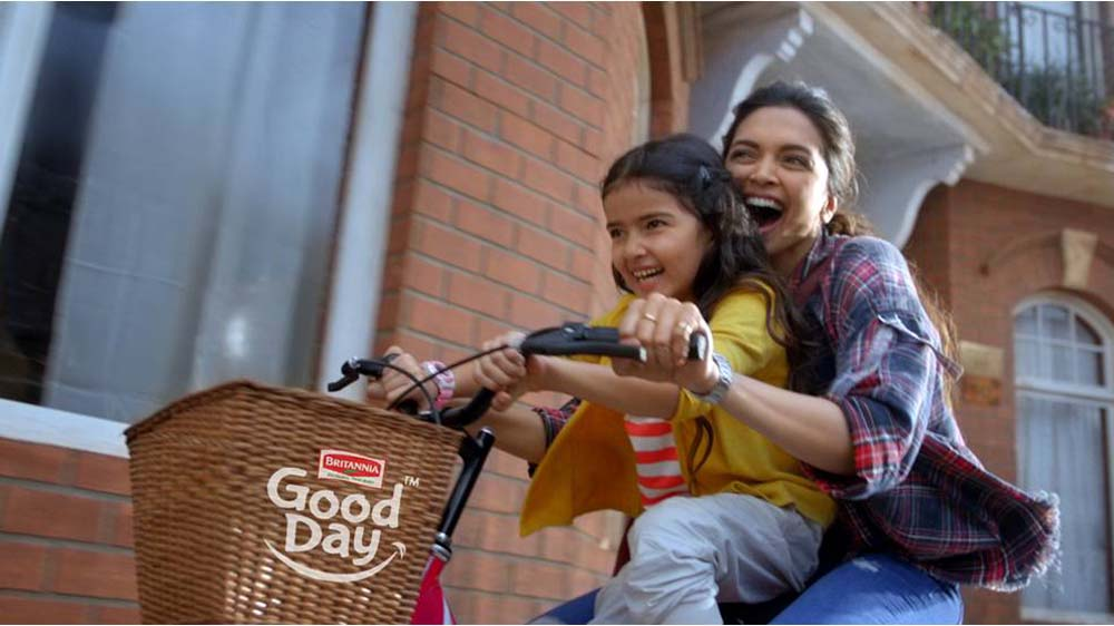 Good Day launches its new campaign 'Smile More For a Good Day' with Deepika