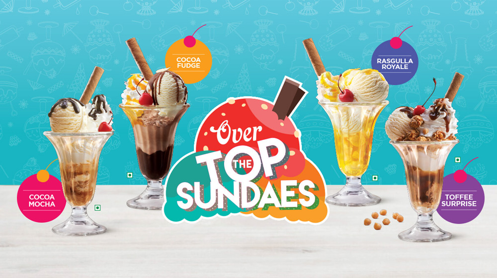 CCD expands its dessert portfolio with Over The Top Sundaes Range