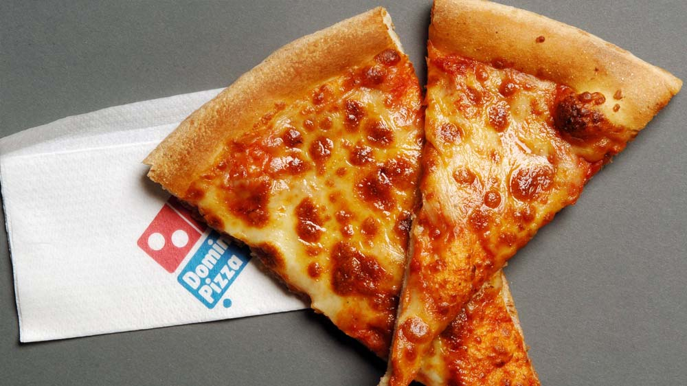 Dominos\' quarterly income rose to approximately $37.8 million