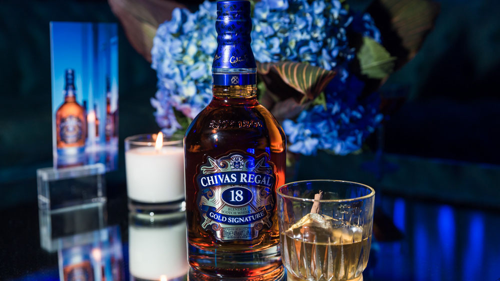 Johnnie's walk not enough to stride ahead of Chivas Regal