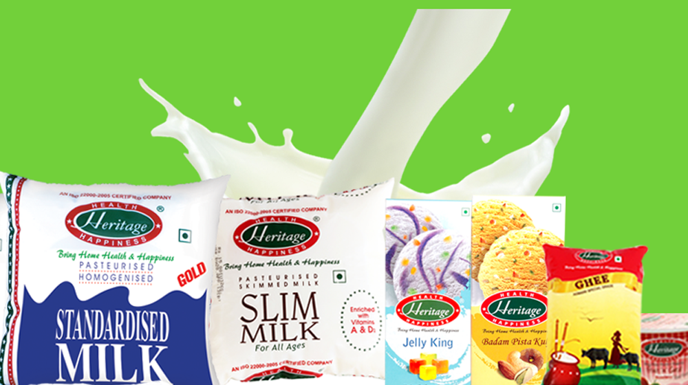 Heritage Foods to start 5 more milk processing plants in the next 5 years