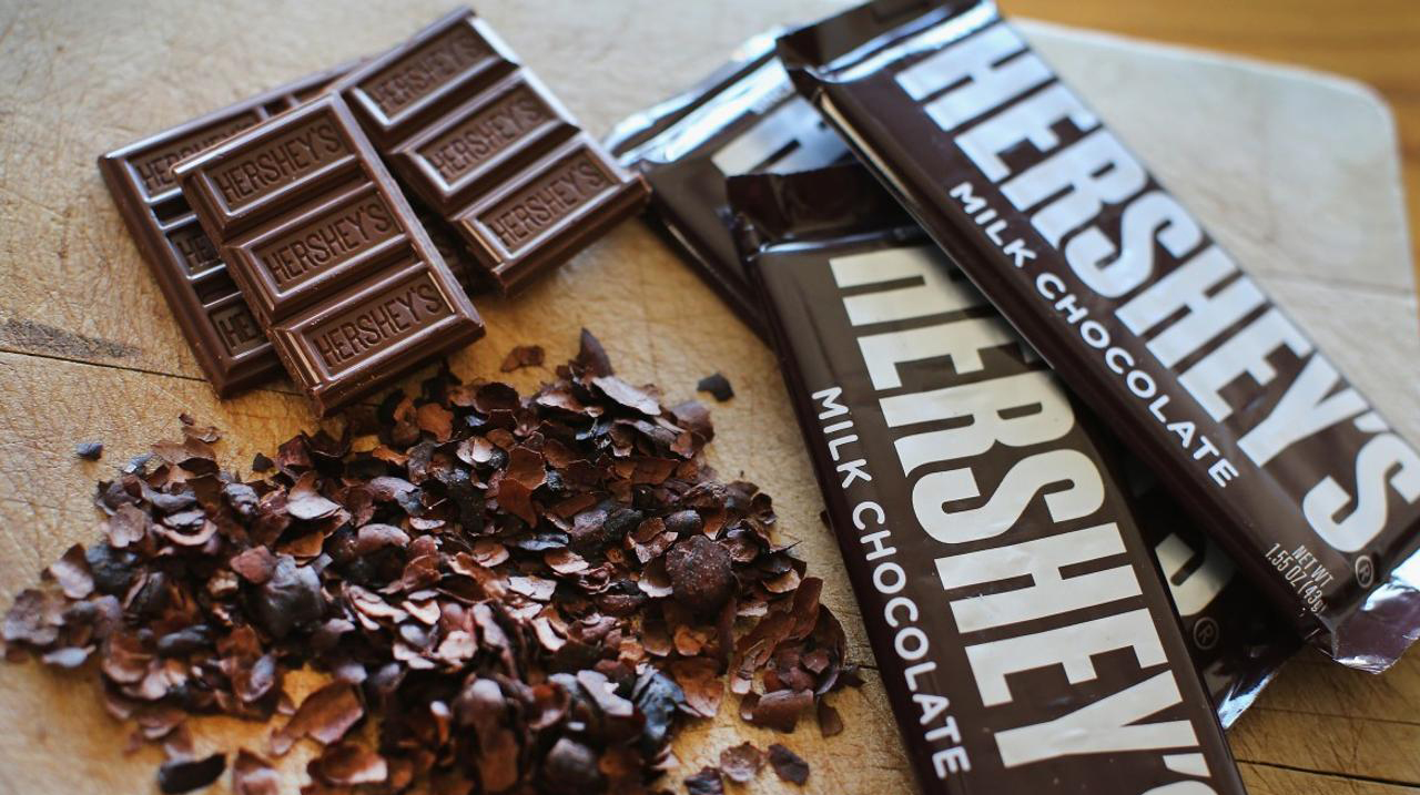 Hershey plans to close plants, offices and other expenses in order to pay its pre-tax charges