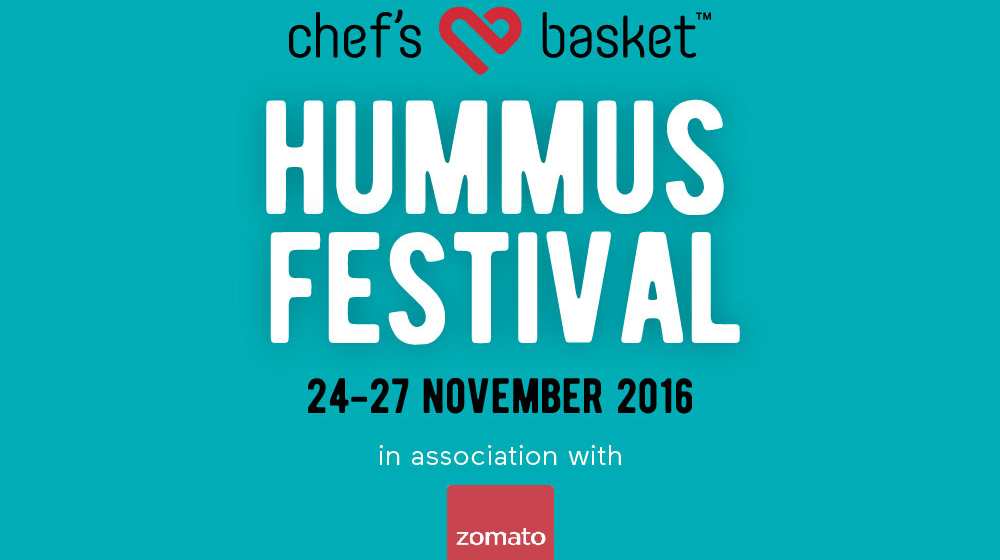 Chef's Basket with Zomato to bring interesting dishes from Chef's Basket's range of Hummus
